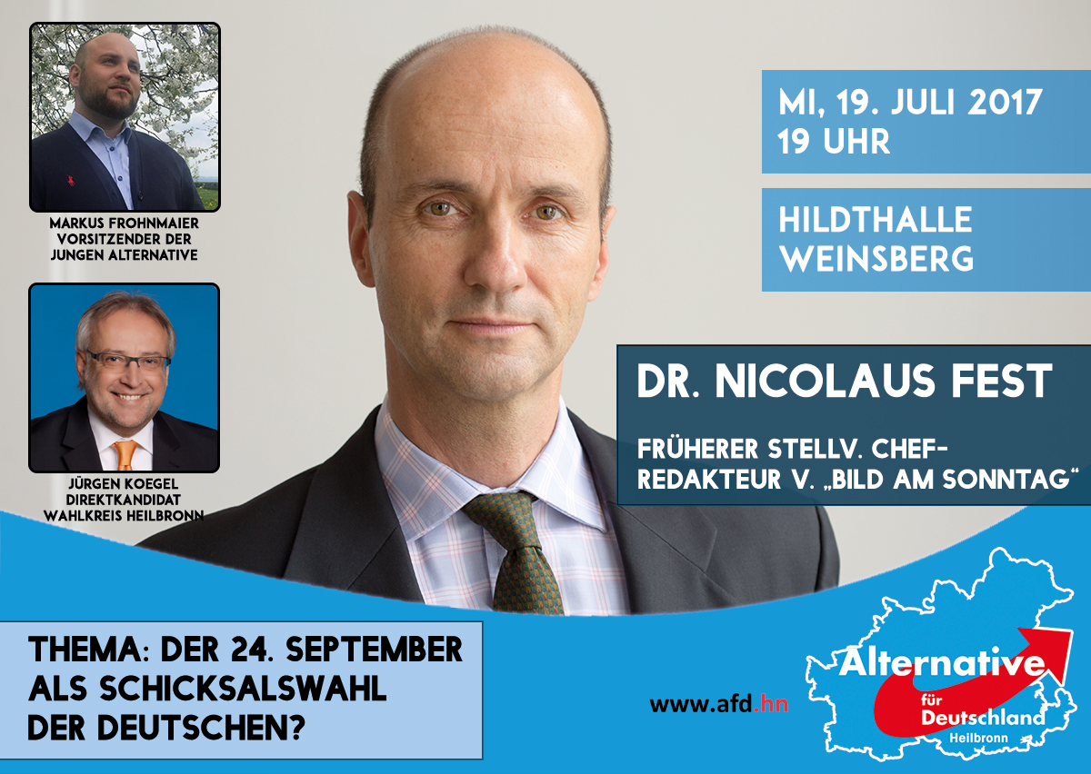Dr. Nicolaus Fest in Weinsberg